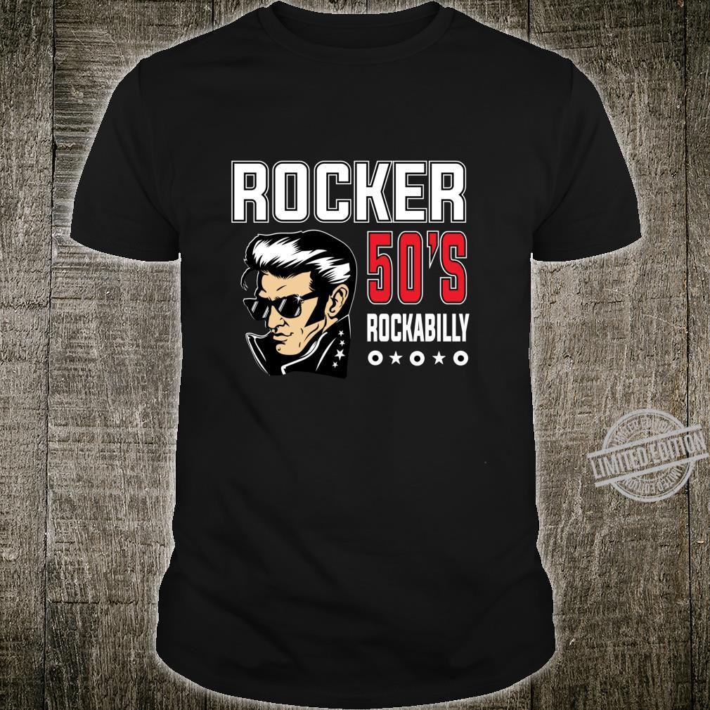 1950s Sock Hop Dance 50s Rockabilly Shirt Retro Rock N Roll Shirt