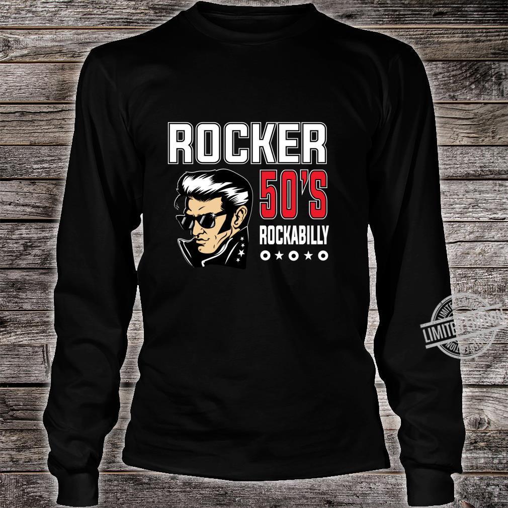 1950s Sock Hop Dance 50s Rockabilly Shirt Retro Rock N Roll Shirt long sleeved