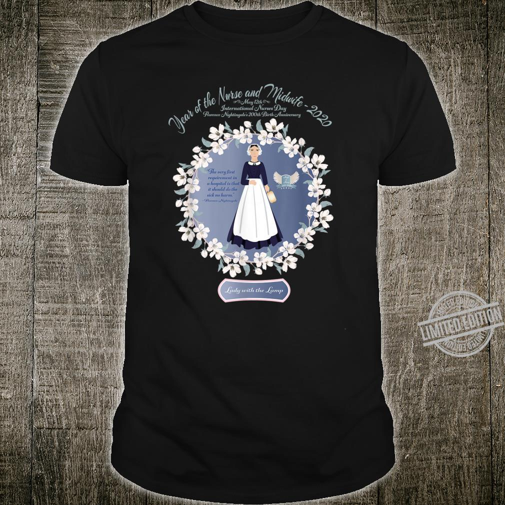 2020 Year of the Nurse and Midwife RN, LPN, Student Shirt