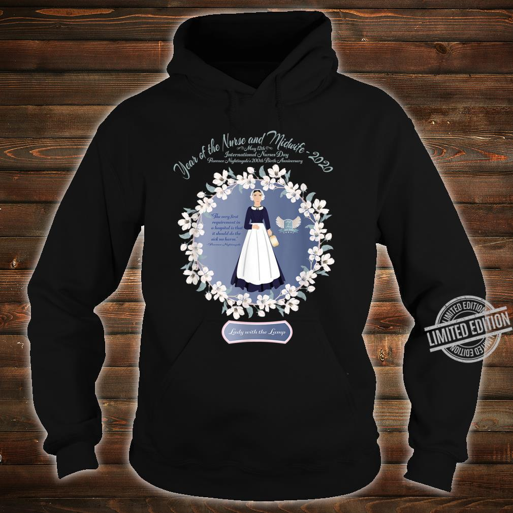 2020 Year of the Nurse and Midwife RN, LPN, Student Shirt hoodie