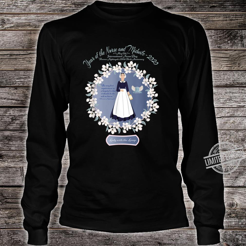 2020 Year of the Nurse and Midwife RN, LPN, Student Shirt long sleeved