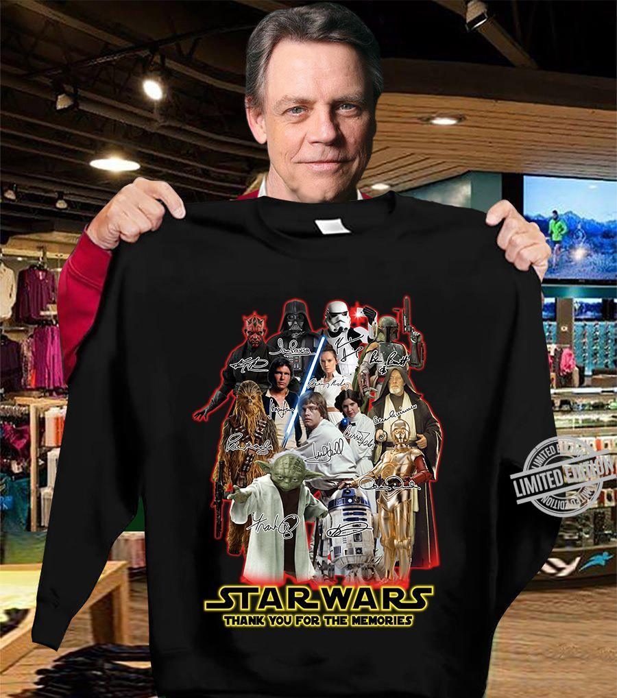 Star Wars Thank You For The Memories Shirt