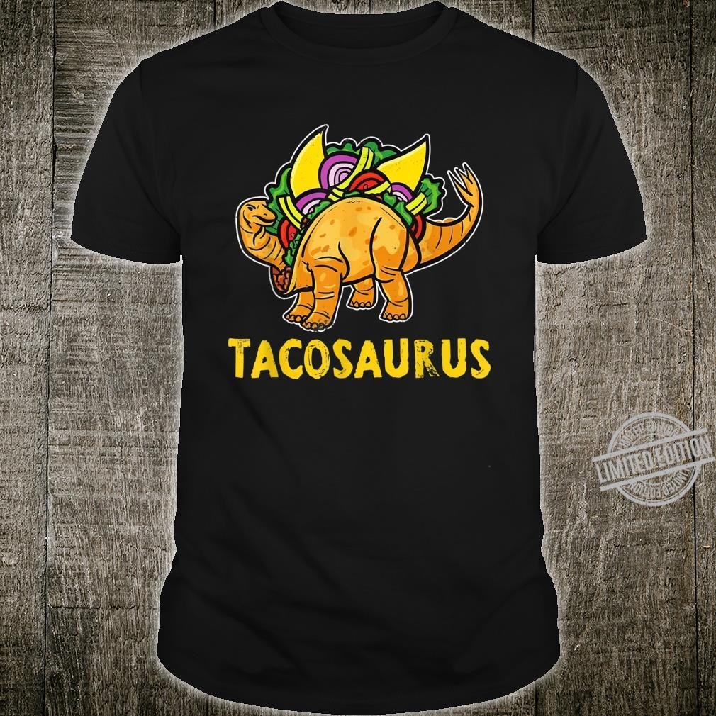 Tacosaurus Taco Dinosaur Cinco De Mayo Shirt