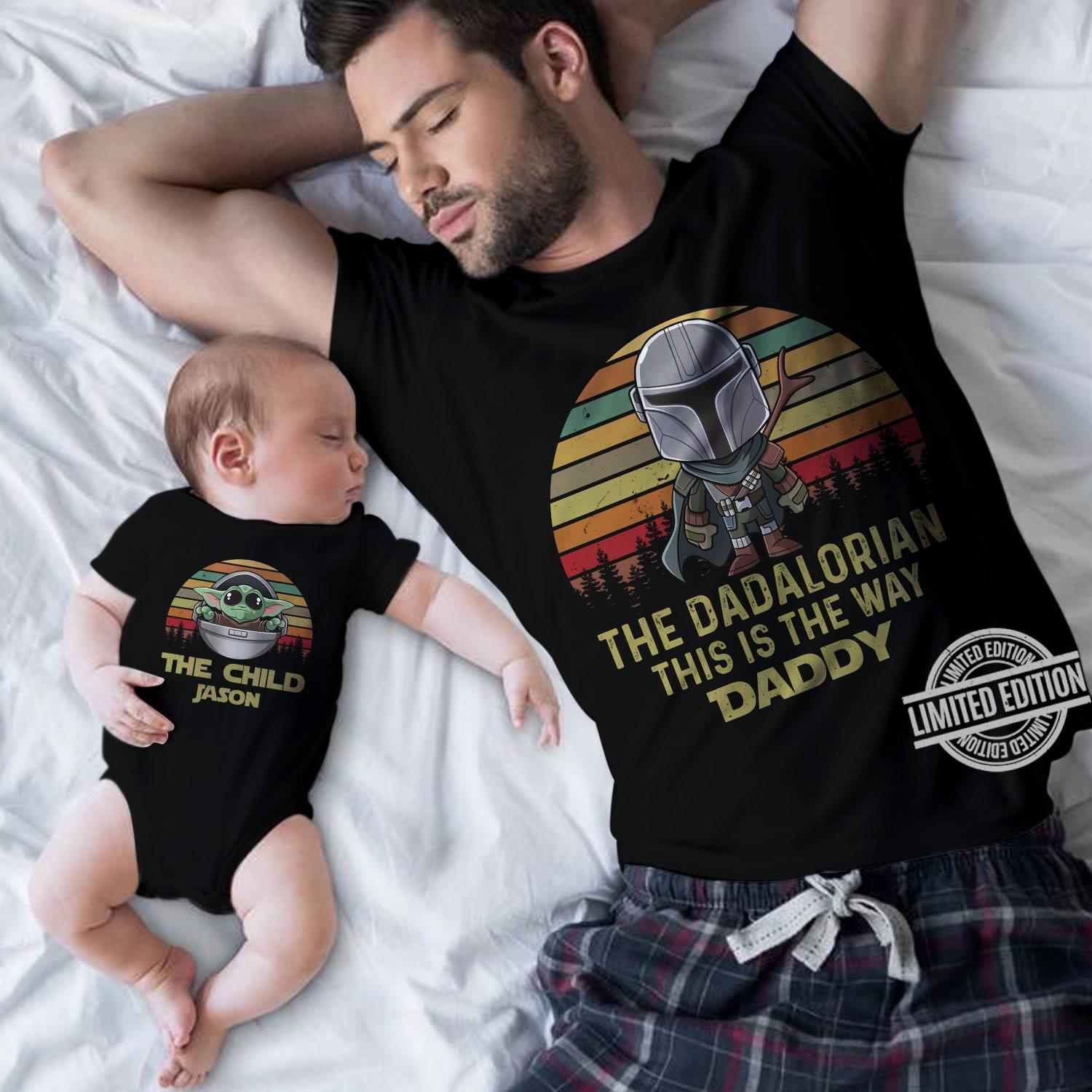 The Dadalorian This Is The Way Daddy Shirt