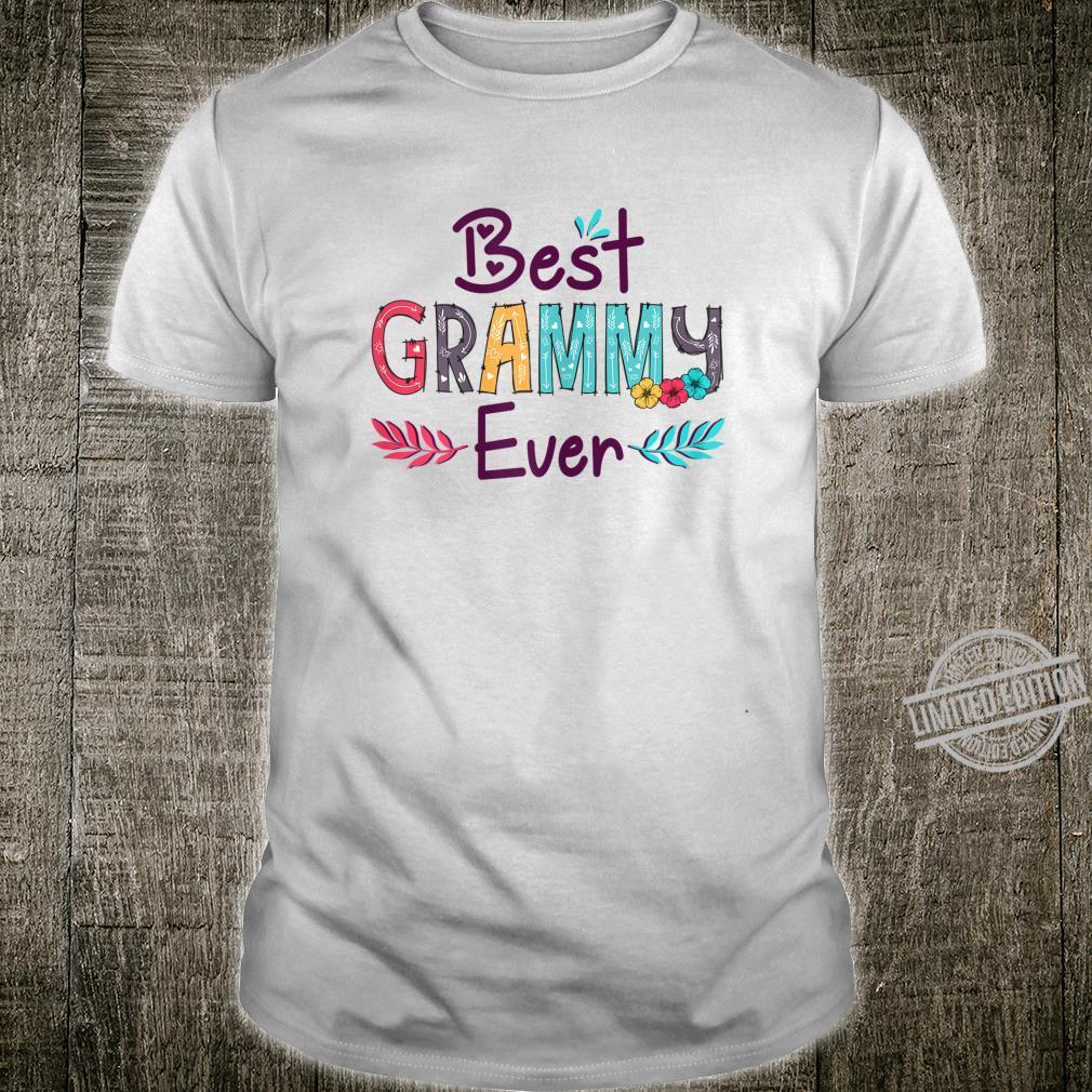 Womens Best Grammy Ever Mother's Day Grandma Shirt