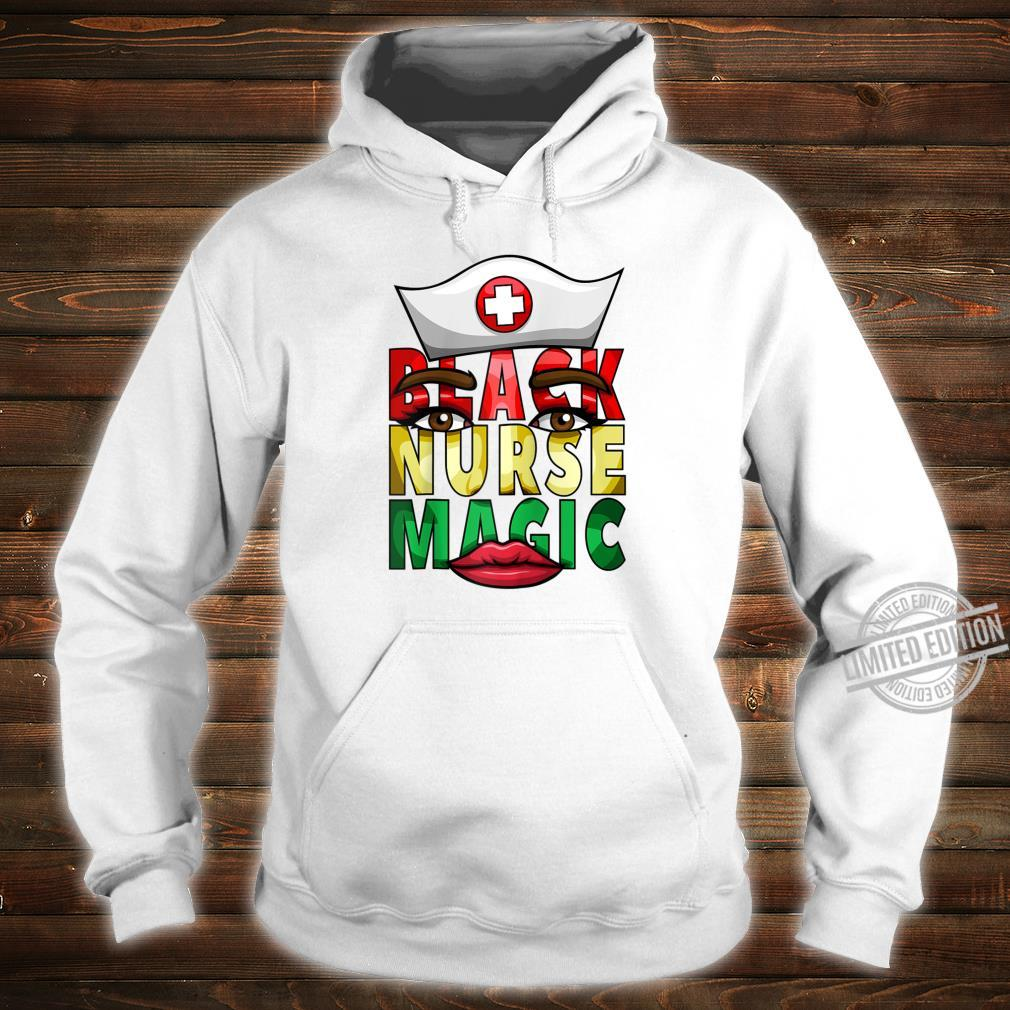 Womens Black Nurse Registered NICU Nurse Black History Shirt hoodie